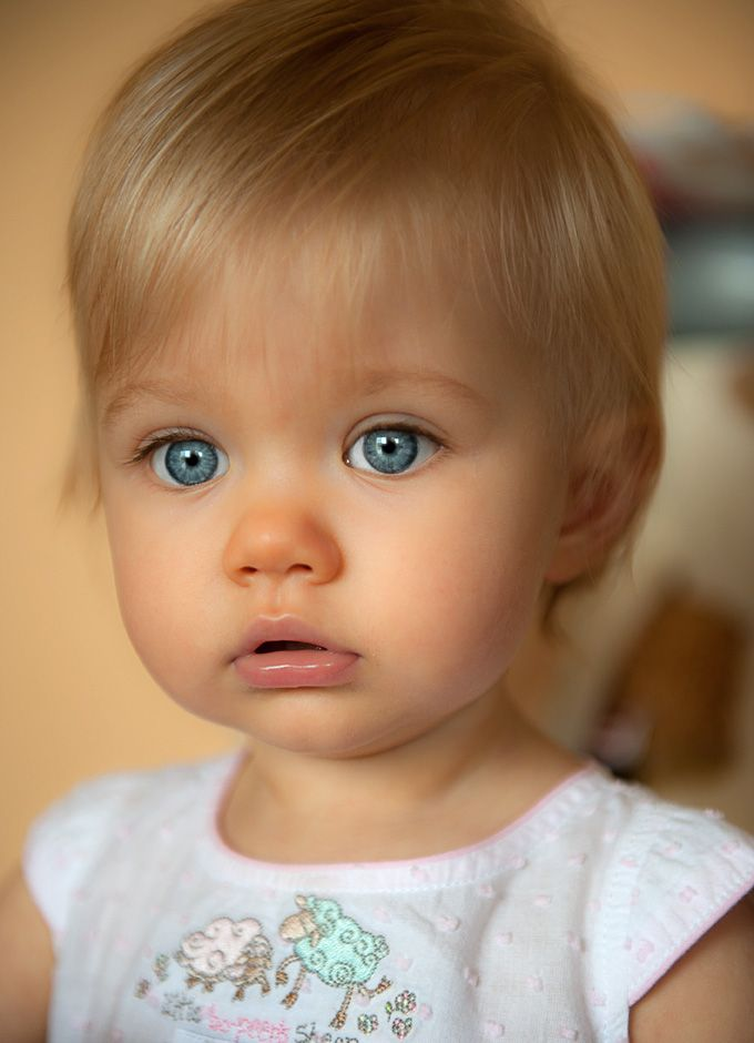This is one of the most beautiful babies I have ever seen!! Pure innocence...Love her!