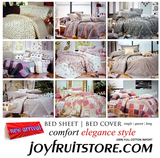 Bedsheet | Bedcover Full Cotton