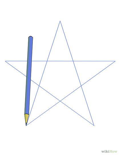 hoe teken je een ster?