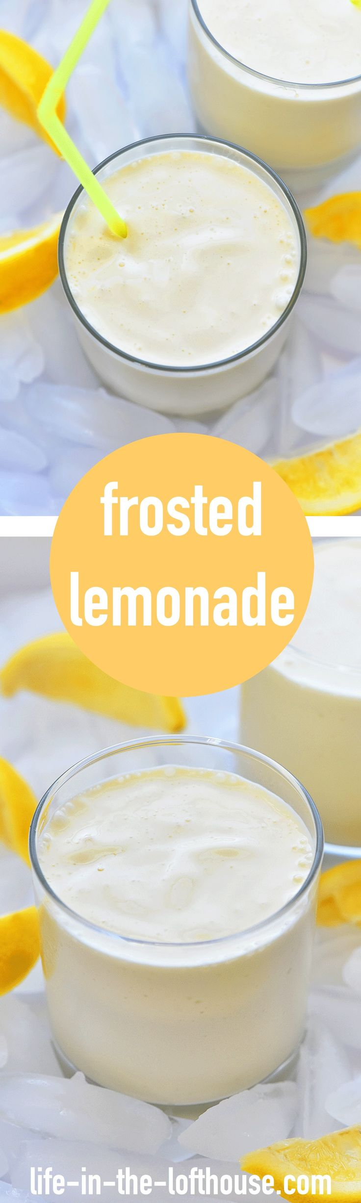 It's way to hot outside. So what better way to cool of than with a refreshing cold drink! This FROSTED LEMONADE is so delicious.... Read More »