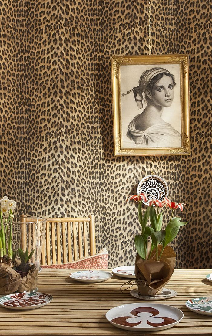 vintage photo, dining room