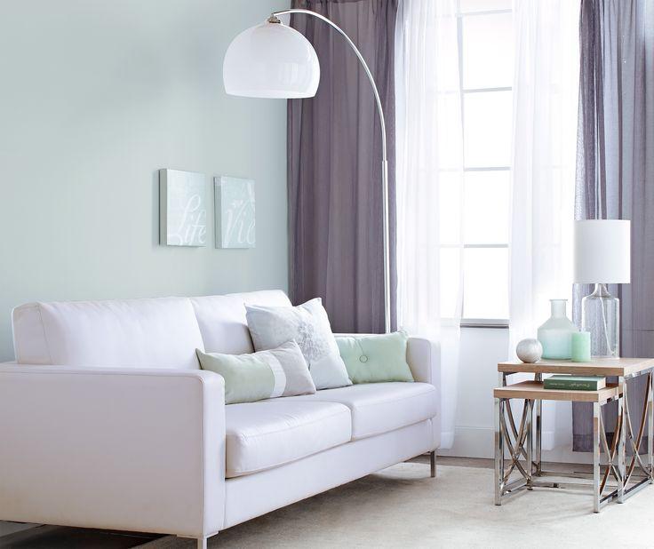 Minty Living Room Decor