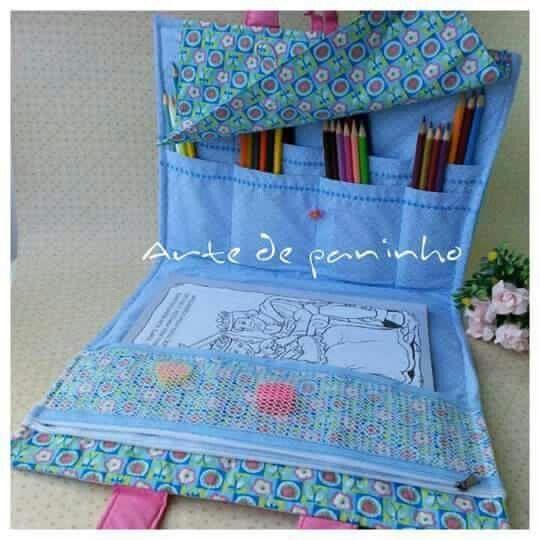 Bolsa para livro Jardim Secreto