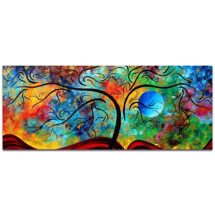 Metal Art Studio Blue Moon Rising Wall Art - MD0046AC