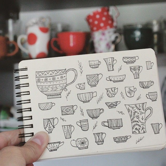 Day 34 of #The100DayProject Cup. #100DaysOfDrawingThingsInDifferentVariations