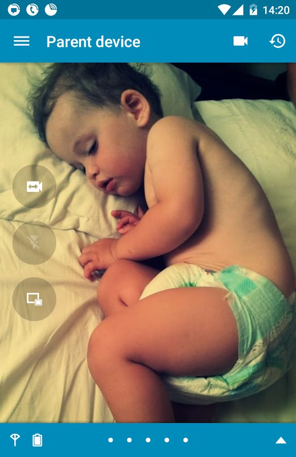 Dormi – a Nanny App with Camera for Android