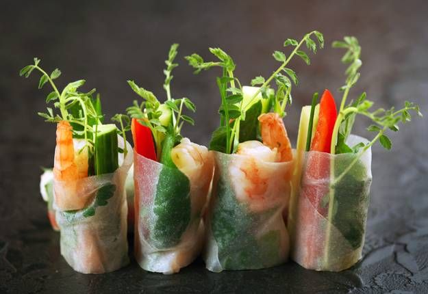 Vietnamese Rice Paper Rolls with Dipping Sauce - Real Recipes from Mums