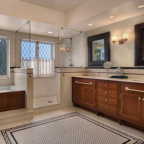 37 best building a house bathroom ideas images on for Craftsman style bathroom design ideas