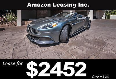 2015 Aston Martin Vanquish V12 S 2dr Volante Business Lease, Closed end, simple interest,5 credit tiers no prepayment penalty