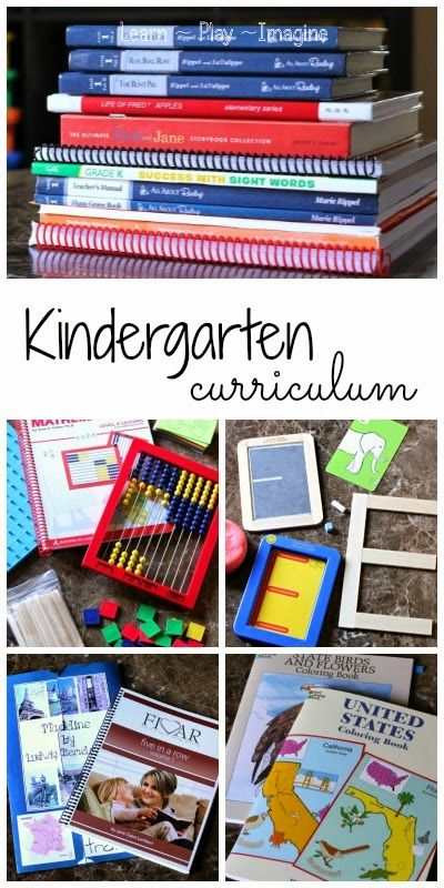 Hands on homeschool curriculum for kindergarten - tons of great ideas here!