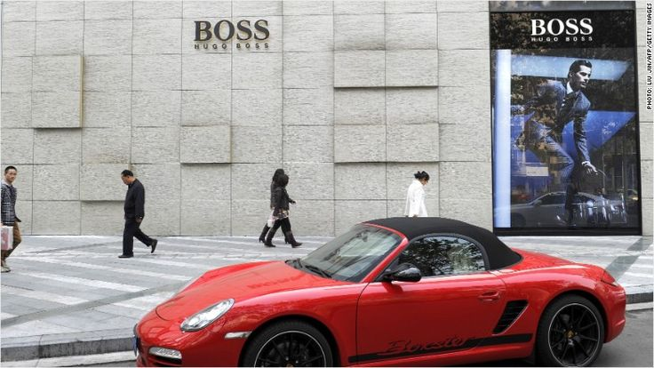 Hugo Boss slammed by weak China sales