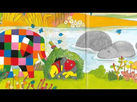 Elmer en Super Fant - YouTube