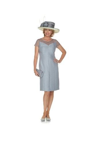 Zinc Tailored Shift Dress