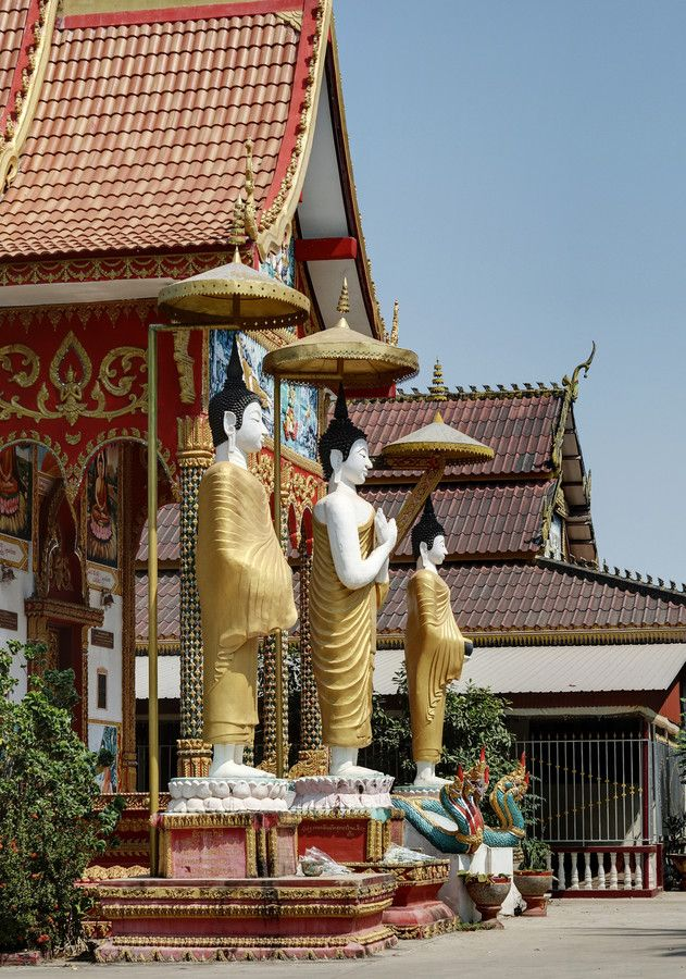 Buddhist temple by Alexey Gnilenkov on 500px , Buddhist temple, Laos, Vientiane