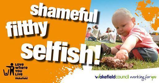 Shameful, filthy, selfish - Wakefield Council