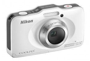 Nikon COOLPIX S31 10.1 MP Waterproof Digital Camera with 720p HD Video (White) | My Canon Digital Camera