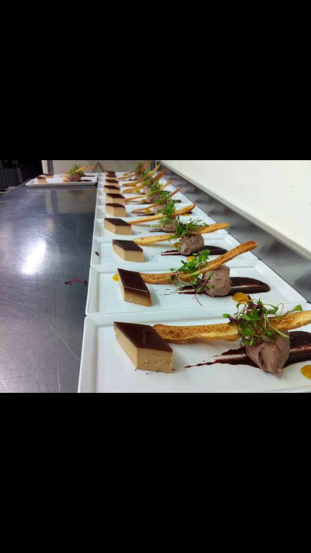 Chicken and duck liver pâté, apricots and thyme, grape and port chutney