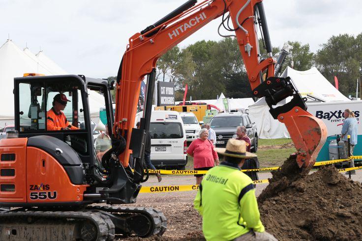 National Excavator skills challenge 2017- Day Two