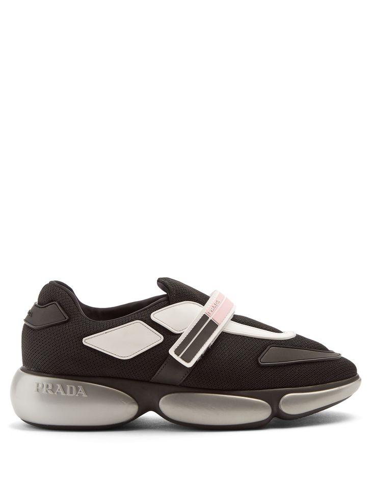 Chaussures De Sport Msgm Rayées En Daim Noir - XsBHOkkKv