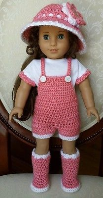 Crochet Outfits American Girl Dolls Only New Crochet