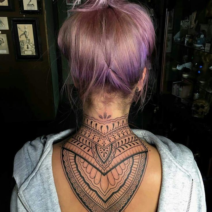 Tattoo For Womens Neck: Best 25+ Nape Tattoo Ideas On Pinterest
