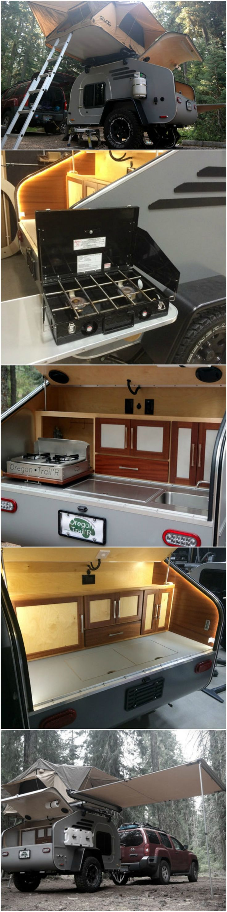 Camper Trailer Kitchen 17 Best Ideas About Off Road Camper On Pinterest Off Road Camper