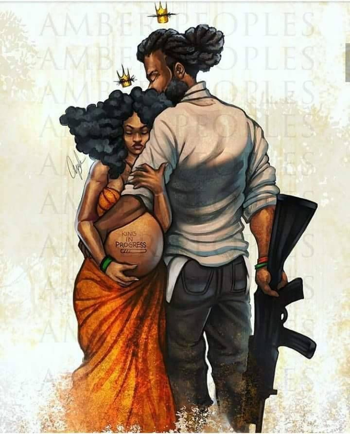 Black Love Art  Black Couple Art, Black Girl Art, Black -2231