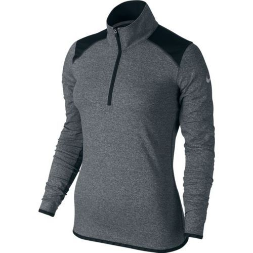 Nike Women's Lucky Azalea 1/2 Zip 2.0  Comfy, light, and without a full zip commitment color- Black $78.00