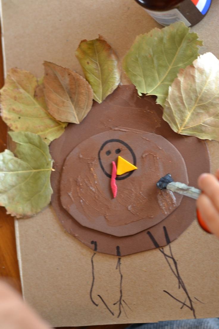 Thanksgiving Turkey Kids Craft
