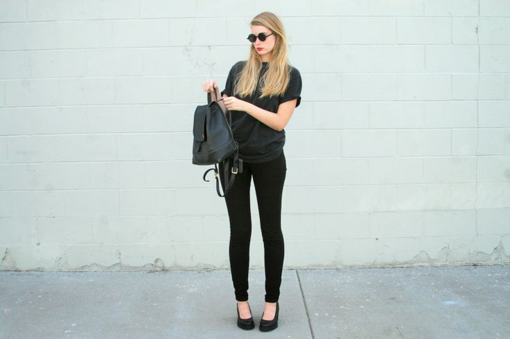 99 best Wear All Black images on Pinterest