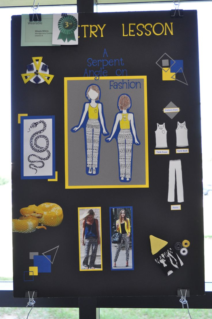 4 h poster designs - Wearable 3rd Place Mikayla Wilkins Montgomery County 326