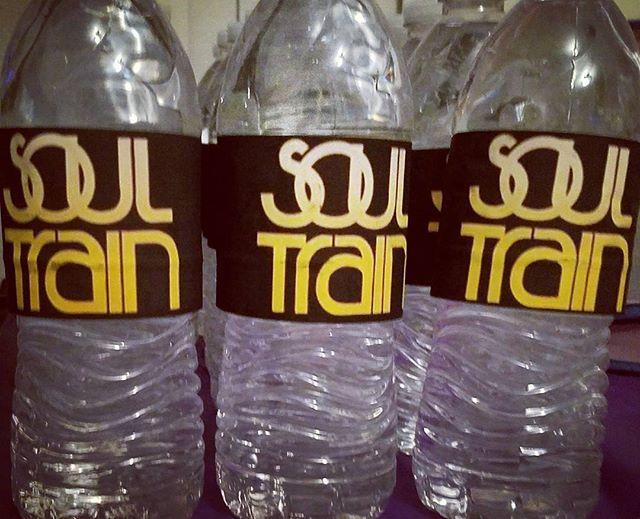 70s Soul Train Party Water Bottle Labels #soultrainparty #70sparty #waterbottlelabels #custompartydecor  70s Party Soul Train Party