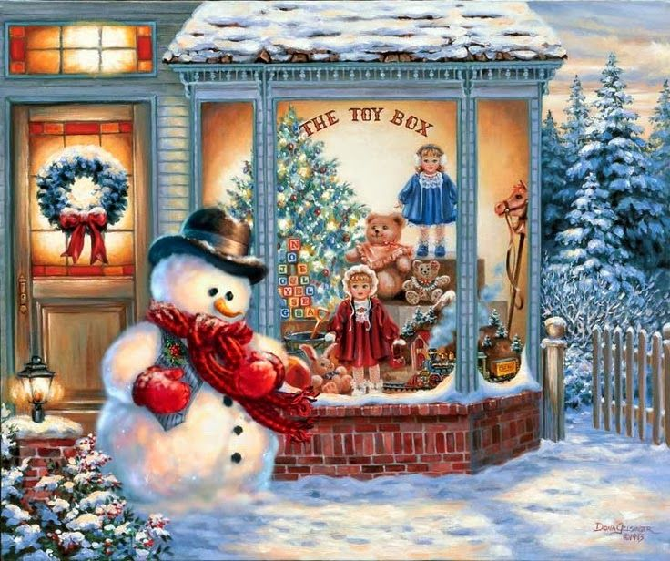 Find This Pin And More On Christmas Scenes By Lisaannb66.