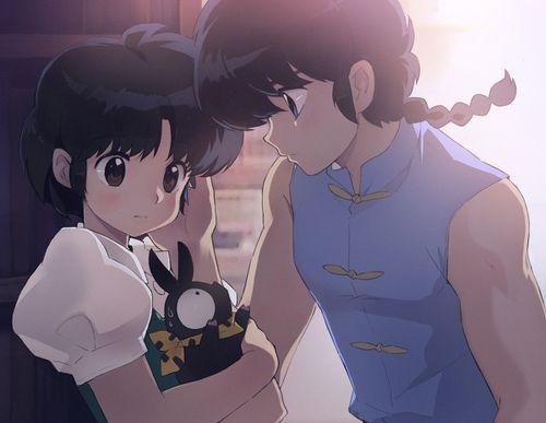 Akane, Ranma, and P-chan - ranma-1-2 Fan Art