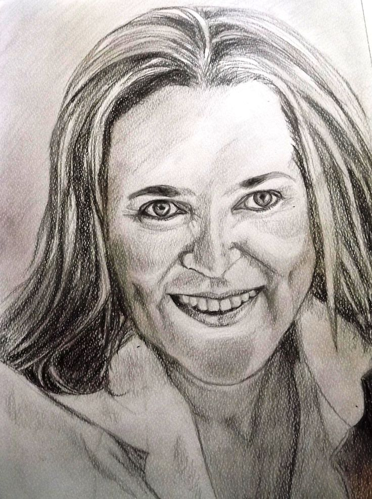 Charcoal and pencil A3 size