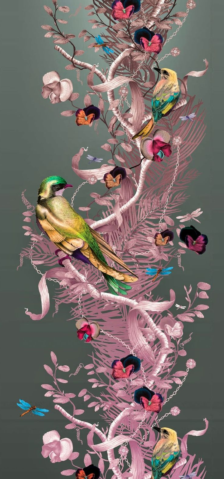 Awesome work by Kit Miles. Re-pinned by www.gilroyinteriors.com Breathing life & colour into your home!