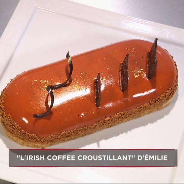 L'Irish coffee croustillant