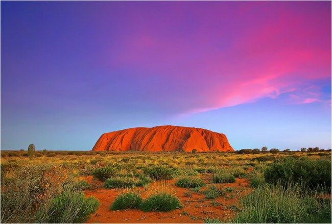 Uluru - Ayers Rock Kata Tjuta National Park