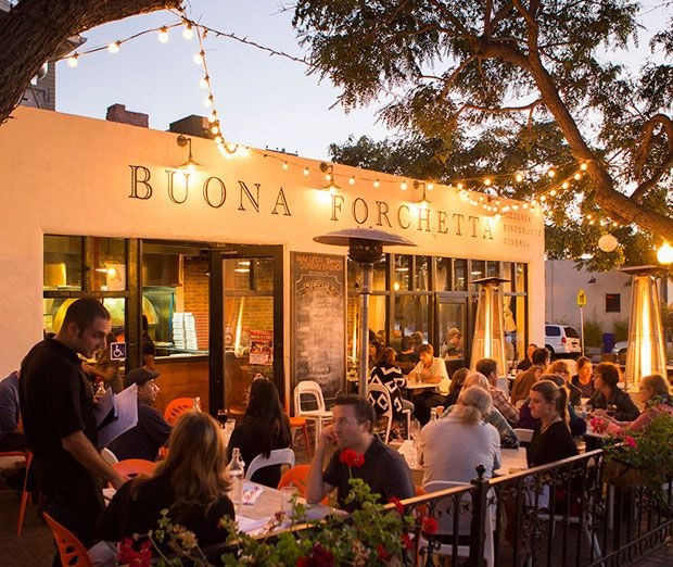 South Park's Buona Forchetta is owned by the heir to an Italian-olive-oil throne. Order The Sergio! #SDMPizza