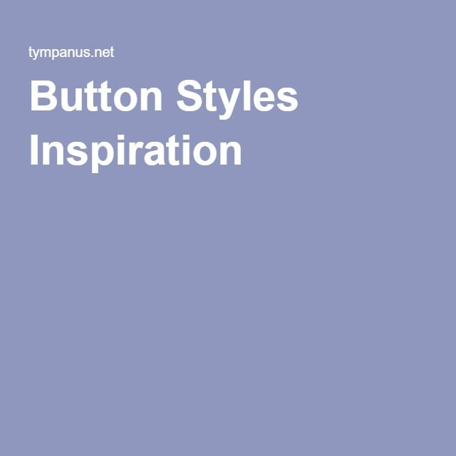 Button Styles Inspiration