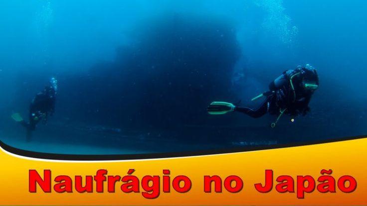 Mergulho No Mais Famoso Naufrágio No Japão Na Cidade De Shirahama, Wakayama-Ken - Mergulho No Japão - Coral Diving