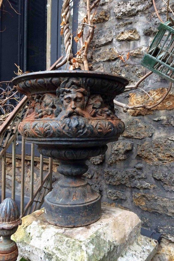 Paris Flea Market --Fantastic Urn