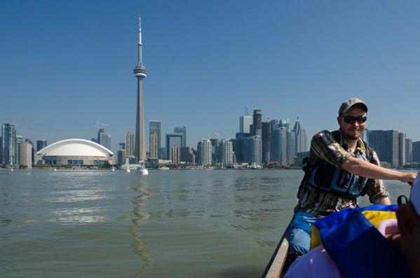 Seeing Toronto ... By Canoe?