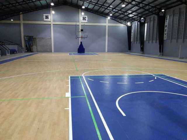 Covered Basketball Court At Trevi Marikina Residential Subdivision Lots For Sale 2018 Marikina Lots For Sale Trevi