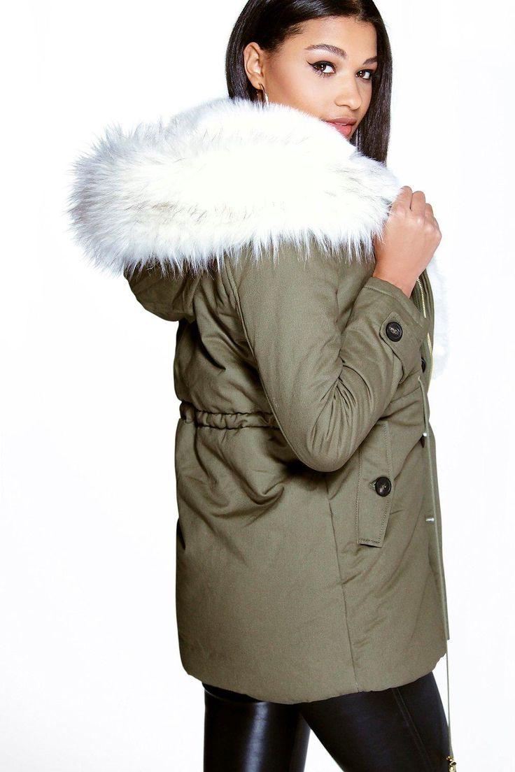 Ladies Parka Coats | Womens Parkas, Coats & Jackets | boohoo