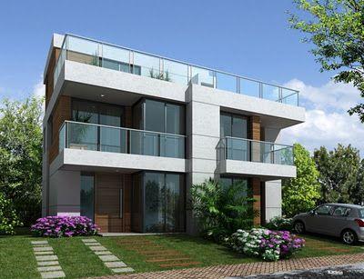 25 melhores ideias sobre plantas de casas gratis no for Construir casas modernas