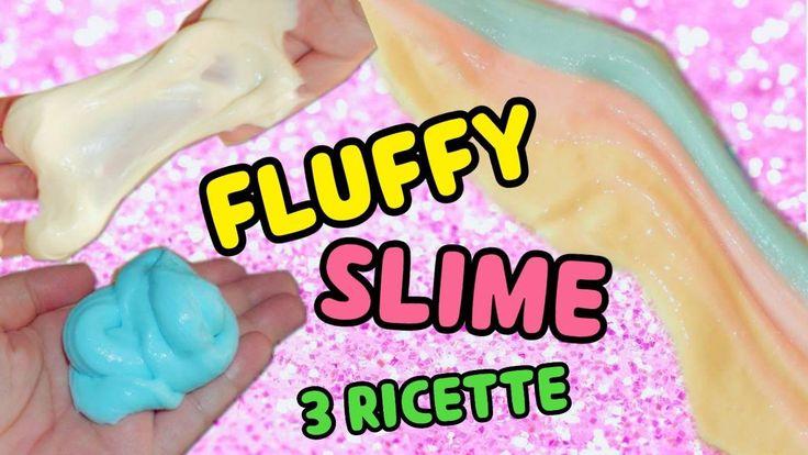 Come fare il FLUFFY SLIME (3 RICETTE) || Iolanda Sweets