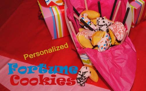 Kate's Escapades – Valentine's Day <br /> How to personalize fortune cookies