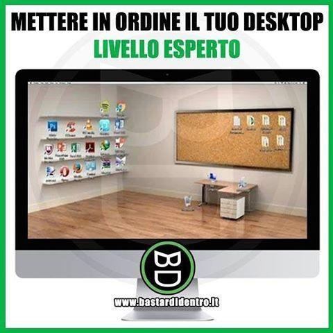 Seguici su youtube/bastardidentro #bastardidentro #ordine #scrivania www.bastardidentro.it