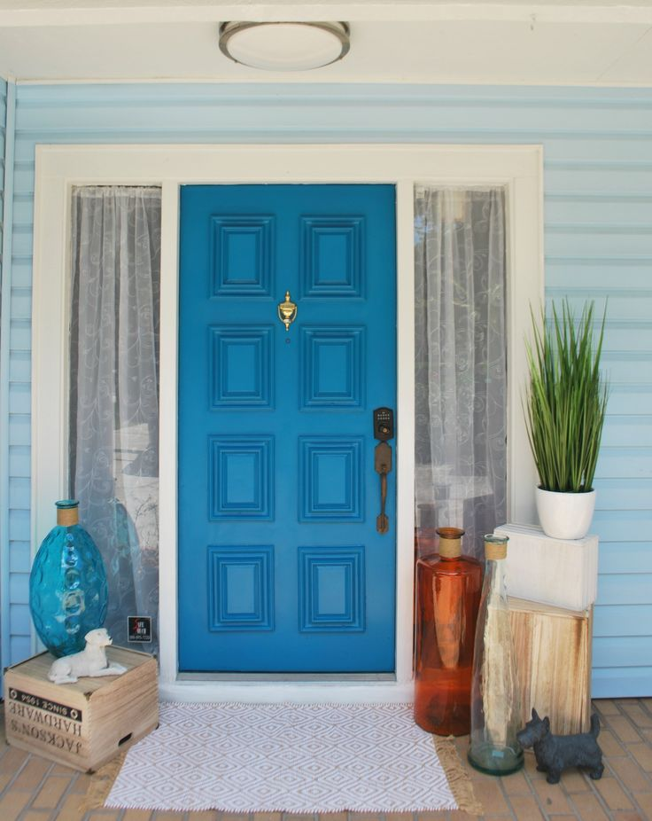 Front Door Paint Fascinating 242 Best Front Door Paint  Projects Images On Pinterest  Front Inspiration Design